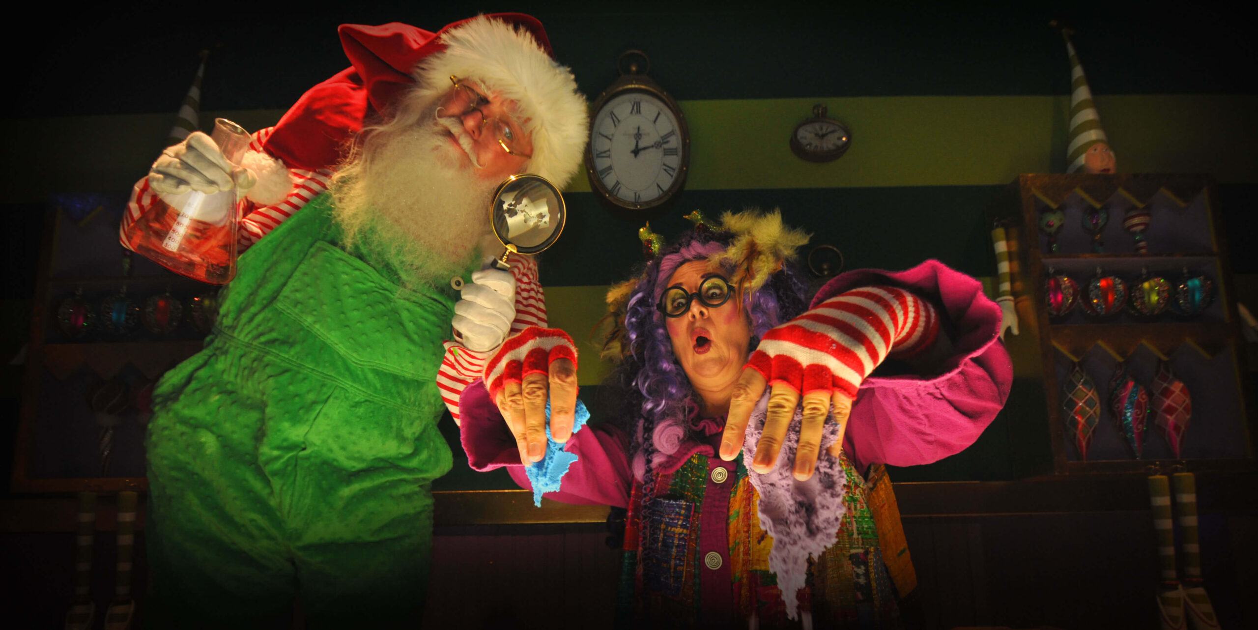 See Santa Claus in Cleveland, Ohio at Mr. Kringle's Inventionasium Experience in Tower City
