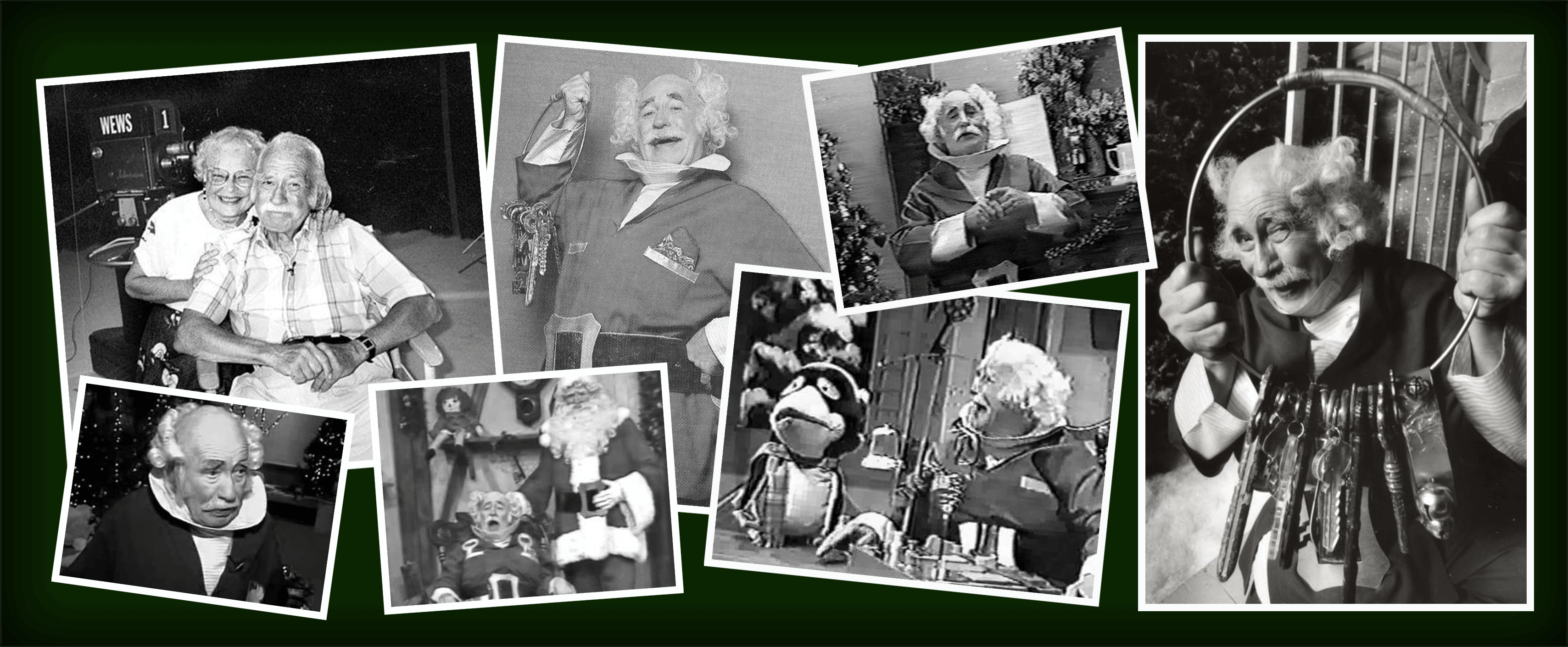 Photos of the most famous Mr. Jingeling, Earl Keyes, in Cleveland, Ohio.