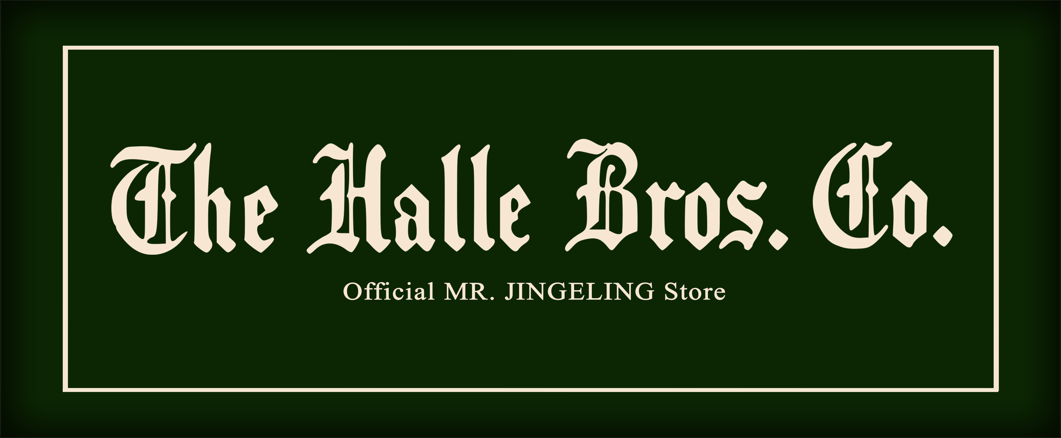 Shop Mr. Jingeling Merchandise at The Halle Bros. Co. Store