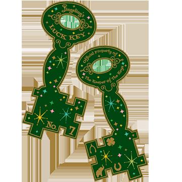 Jingeling's Paper Key
