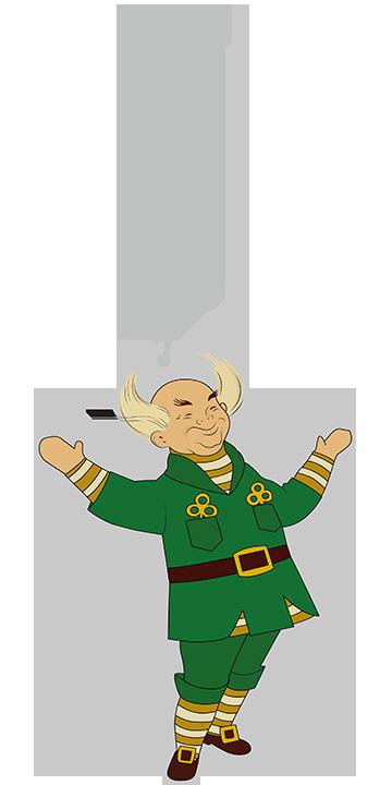 Mr. Jingeling Retro Ornament