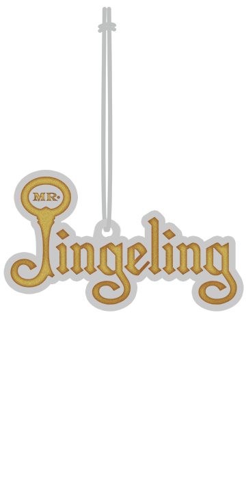 Mr. Jingeling Logo Ornament