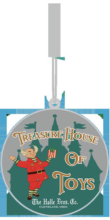 Treasure House Of Toys Ornament