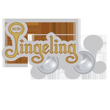 Mr. Jingeling Logo Pin