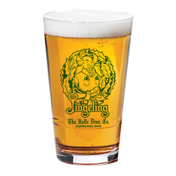 Mr. Jingeling Pint Glass