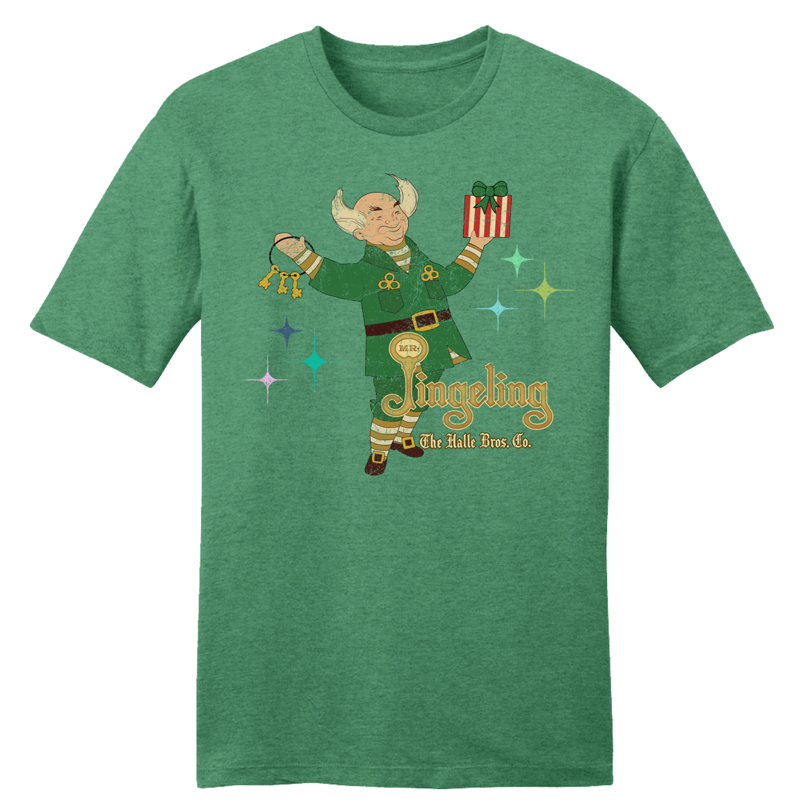 Mr. Jingeling Retro T-Shirt