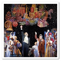 Holiday tradition of Great Lakes Theater's A Christmas Carol in Cleveland's Playhouse Square