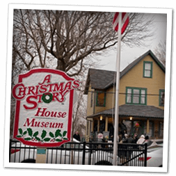 A Christmas Story House Museum in Cleveland, another holiday tradition