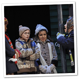 A Christmas Story play in Cleveland during the holiday season