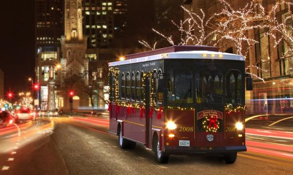 Cleveland's Holiday Lights Trolley Tours