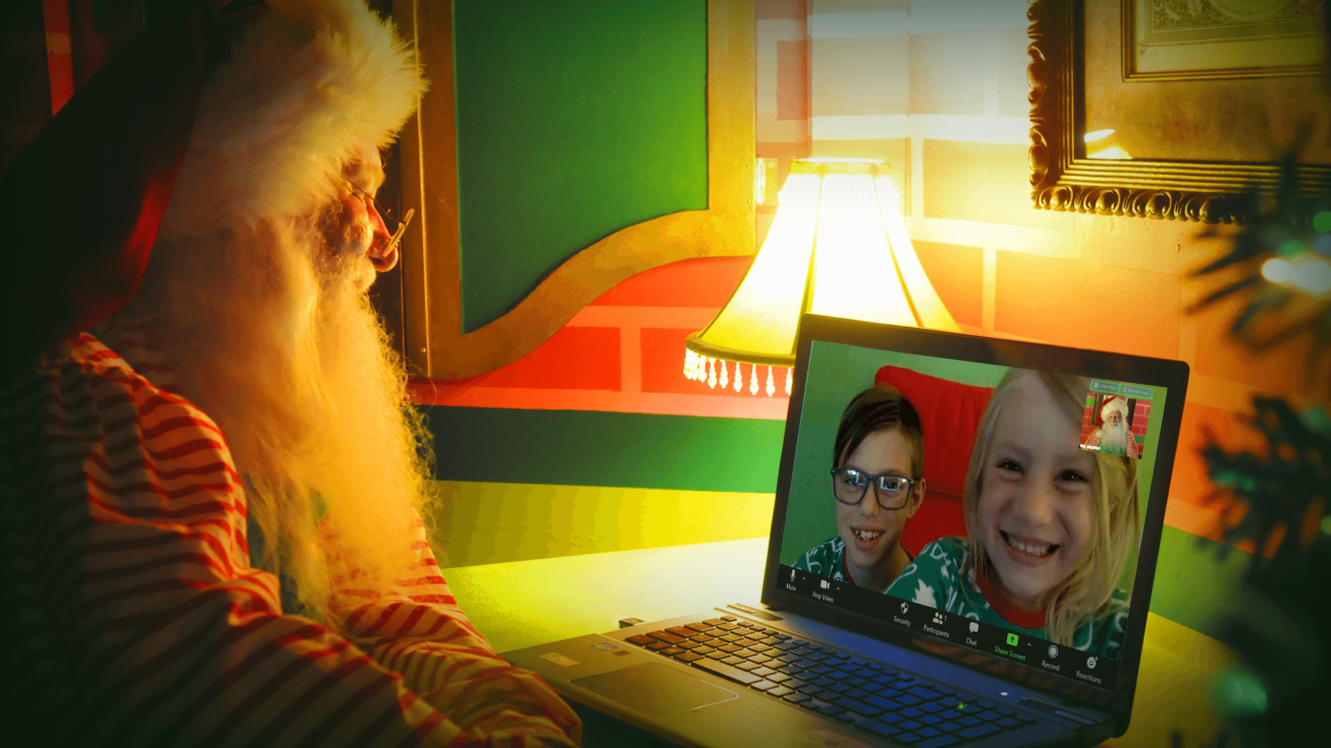 Mr. Kringle offers Virtual Santa Visits, Santa Breakfasts, Letters From Santa, and Immersive Santa Experiences!