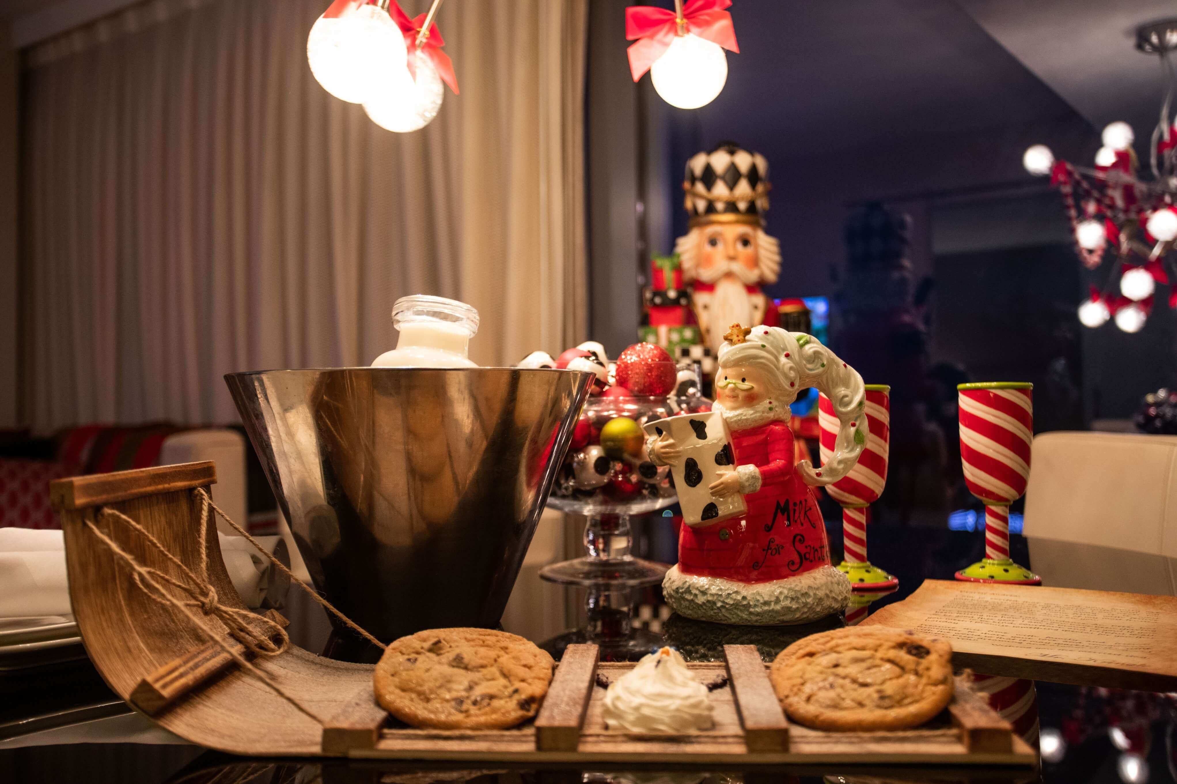 A delivery of treats come to the Mr. Kringle in Cleveland, Ohio.